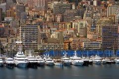 Monaco harbor Stock Images