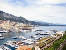 Monaco harbor Royalty Free Stock Photos