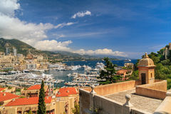 Monaco harbor, French Riviera Stock Photography
