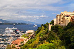 Monaco harbor, French Riviera Royalty Free Stock Photography