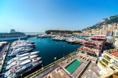 Monaco harbor Royalty Free Stock Images
