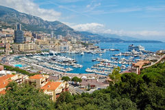 Monaco harbour Royalty Free Stock Photos