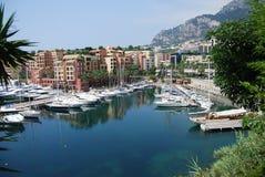 Monaco Harbour Royalty Free Stock Photos