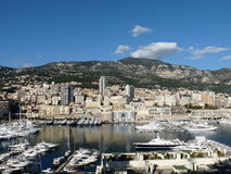 Monaco Harbour. Monaco is the second smallest country (by size) in the world. Monaco is also the world's second smallest monarchy, and one of the most densely Stock Photos