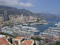 Monaco Harbour. Royalty Free Stock Photos