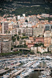 Monaco Harbour, Monte Carlo, view Royalty Free Stock Image