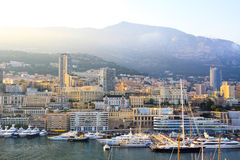Monaco Harbour Royalty Free Stock Image