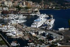 Monaco harbour Royalty Free Stock Image
