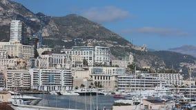 Monaco Hercule Port stock video