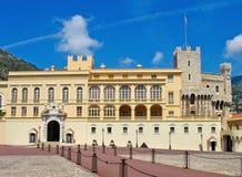 Monaco - het Paleis van de Prins Royalty-vrije Stock Foto