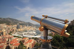 Monaco. A high perspective of Monaco Royalty Free Stock Photos