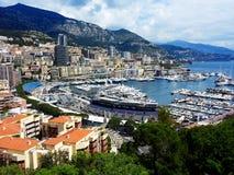 Monaco i formuła jeden Obraz Stock