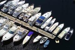 Monaco-Jachthafen Stockfotos