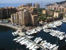 Monaco jachty Fotografia Stock