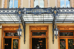 Monaco 02 Juni 2014 Monte Carlo Grand Casino Ein des world Lizenzfreie Stockbilder
