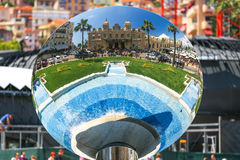 Monaco 02 Juni 2014, Monte Carlo Grand Casino En av world'en Arkivbilder
