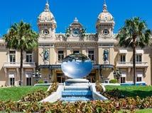Monaco-Kasino-Spiegel-Teller Lizenzfreies Stockfoto
