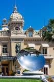 Monaco-Kasino-Spiegel-Teller Lizenzfreie Stockbilder