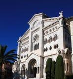 Monaco-Kathedrale Stockbild