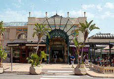 Monaco - kawiarnia de Paryż obrazy stock