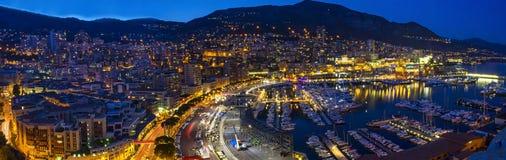 Monaco landscape Royalty Free Stock Image