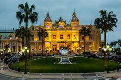 Casino in Monte Carlo royalty free stock photography