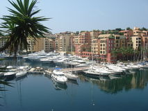 Monaco Marina Royalty Free Stock Photo