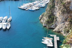 Monaco Marina Zdjęcia Royalty Free
