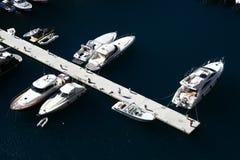 Monaco marina Royalty Free Stock Photos