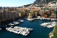 Monaco marina Royalty Free Stock Photography