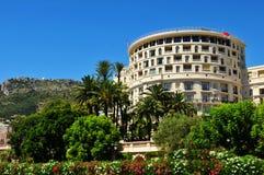 Monaco. Modern architecture in central Monte Carlo, Monaco royalty free stock photos