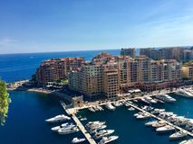 Monaco, Monte Carlo stock fotografie
