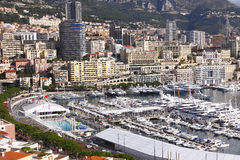 Monaco, Monte Carlo. The luxury and prestigious Monaco, Monte-Carlo Royalty Free Stock Photos