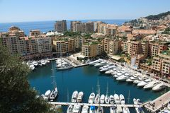 Monaco, Monte Carlo Stock Photo
