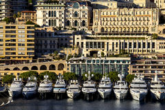 Monaco Monte Carlo. Architectural view of Monaco, Monte Carlo Royalty Free Stock Photos