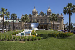 Monaco - Monte Carlo Casino Stock Photography