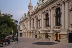 Monaco Monte Carlo Casino Royaltyfri Foto