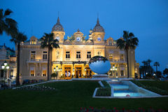 Monaco Monte Carlo Casino Royalty Free Stock Photography