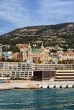 Monaco Monte Carlo Casino From The Sea Stock Images