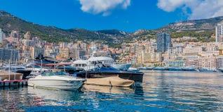 Monaco Monte Carlo city marina Stock Images