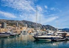 Monaco Monte Carlo From Port Royalty Free Stock Photo