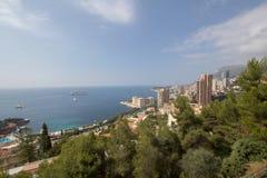 Monaco Monte carlo cityscape, principality aerial view Royalty Free Stock Image