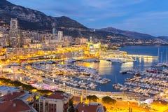Monaco Monte Carlo harbour Royalty Free Stock Photo