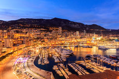 Monaco Monte Carlo harbour french riviera Royalty Free Stock Image