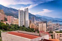 MONACO, MONTE CARLO - JULY 22, 2013: View of the city of Monteca Royalty Free Stock Photo