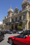 Monaco - Monte - carlo kasino Arkivbilder