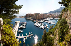 Monaco, Monte Carlo Landscape Royalty Free Stock Photos