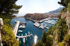 Monaco, Monte Carlo Landscape Royalty Free Stock Photos