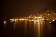 Monaco, Monte Carlo by night Royalty Free Stock Image