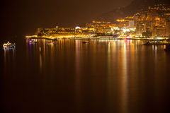 Monaco, Monte Carlo by night Stock Photo